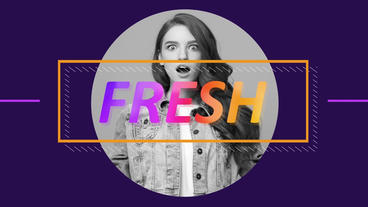 Fresh Style Opener After Effects Template
