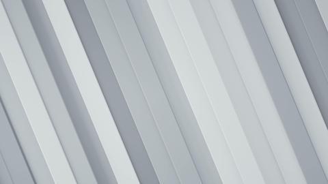 Diagonal white stripes seamless loop 3D render animation Animation