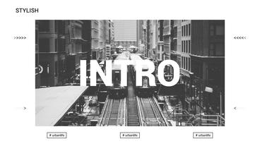 Stylish Intro After Effects Template