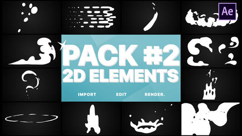 Elements Pack 02 After Effects Template