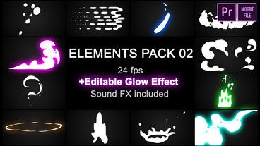 Elements Pack 02 Motion Graphics Template