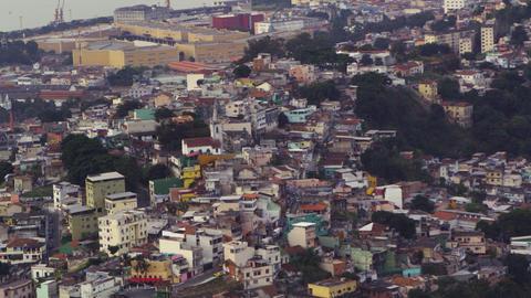 Hilltop buildings of Rio Footage