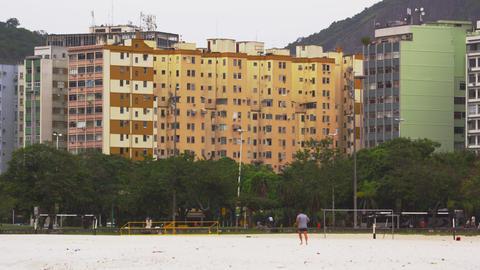 Buildings in downtown Rio de Janeiro, Brazil Footage