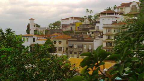 Static shot of residential condominiums in Rio de Janeiro, Brazil Footage