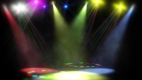 Disc Jam Club Lasers - 2 Animation