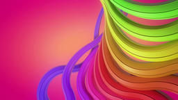 Color Lines Looping Background Animation