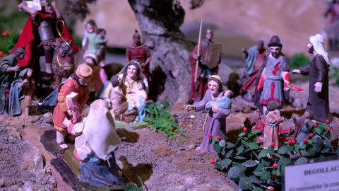 Largest animated nativity scene in South America Footage