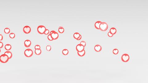 Social love heart icon animations Animation