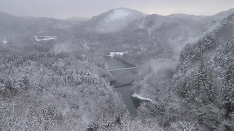 Winter scenery of Japan Live Action