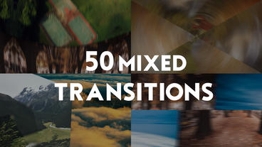 50 Transitions Premiere Pro Template