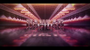 3D Hangar Logo After Effects Template