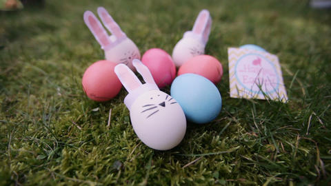 decoration for Easter. Easter bunnyes GIF