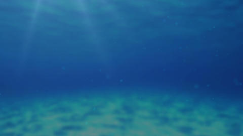Underwater Background Stock Video Footage
