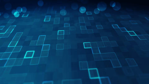 Abstract technology background 2 Animation