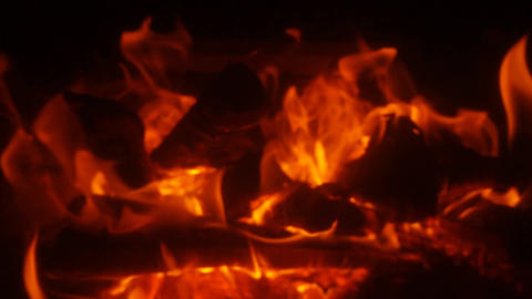 Fire Slow Motion Footage