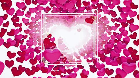 Valentine 04 4K CG動画素材