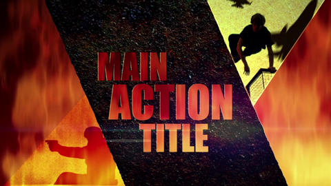 Action Blockbuster After Effects Template