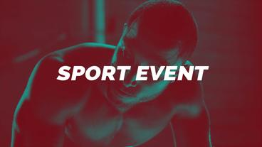 Sport/Glitch Sport After Effects Template