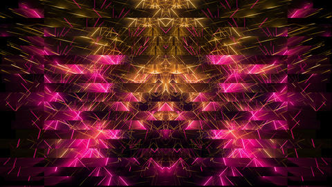 Softy Lines Square Horizontal motion background vj loop Footage