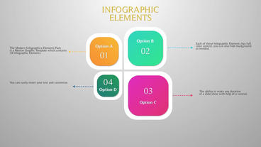 Modern Infographic Elements MTG Motion Graphics Template