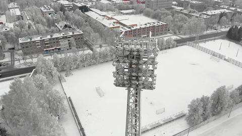 outdoor stadium aerial photography Live Action
