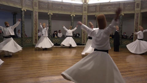Whirling Dervish Youth First Act Footage
