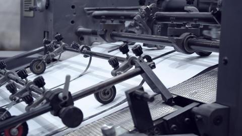 press typography apparatus Footage