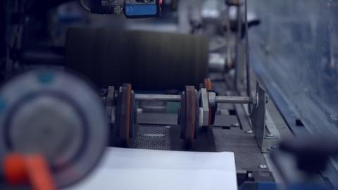 white postal envelopes close up Live Action