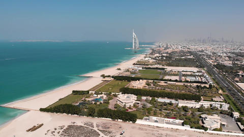 View of the hotel View of the hotel Burj Al Arab Jumeirah Live Action