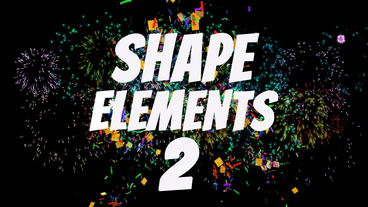Shape Elements 2 After Effects Template