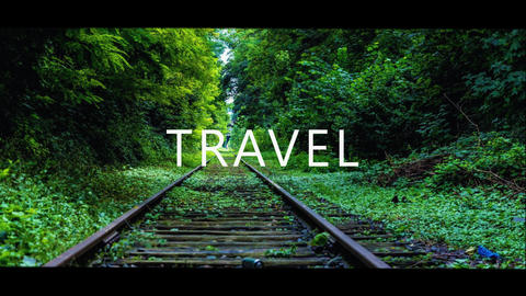 Dynamic travel fast slideshow After Effects Template