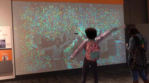 Boston, Massachusetts - 20181023 - Museum of Science -... Stock Video Footage