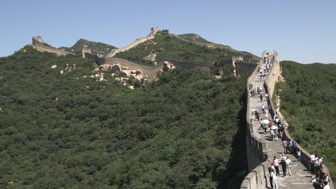 Badaling section of the Great Wall of China Live Action
