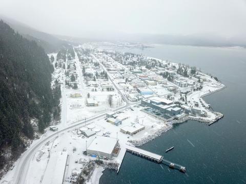 City of Seward Alaska Fotografía