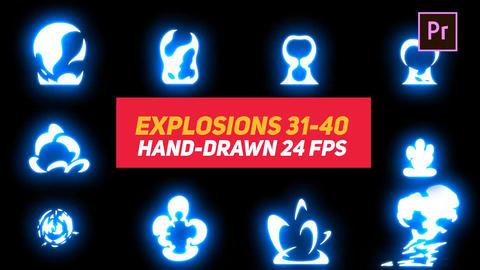 Liquid Elements Explosions 31-40 Motion Graphics Template