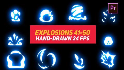 Liquid Elements Explosions 41-50 Motion Graphics Template