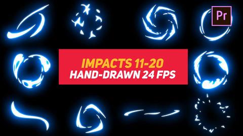 Liquid Elements Impacts 11-20 Motion Graphics Template