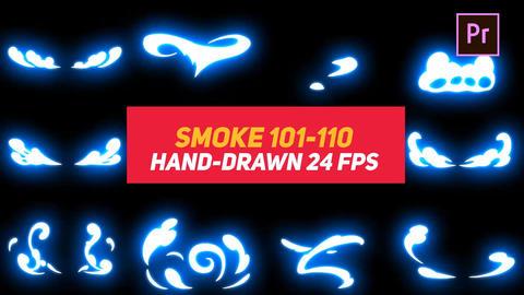 Liquid Elements Smoke 101-110 Motion Graphics Template