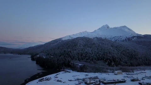 Aerial view of Alaska Live Action