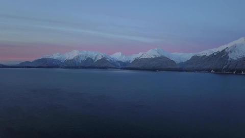 Icy Alaska morning Live Action