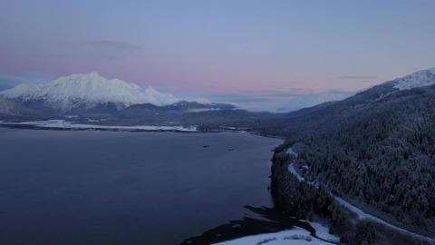 Frozen waters of Alaska Live Action