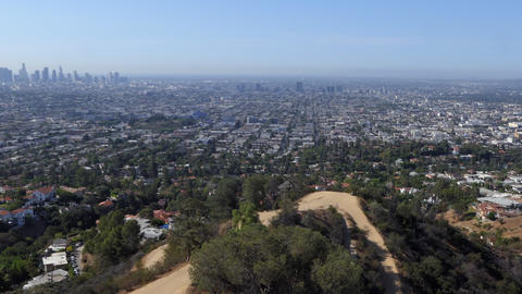Los Angeles From Griffith Observatory California United States Of America Footage