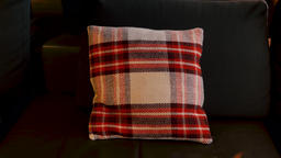 Decorative Couch Pillow Footage