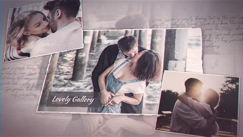Lovely Gallery After Effects Template