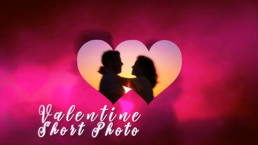 Valentine's Day Short Photo After Effects Template