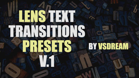 Text Transitions Pack 0