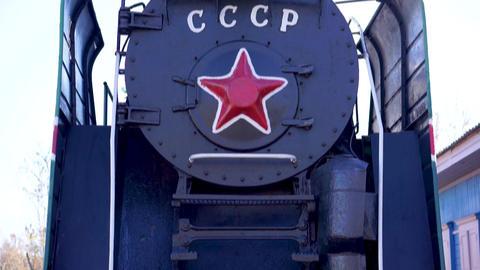 The Soviet steam locomotive Footage