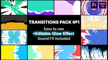 Liquid Transitions Pack 01 Motion Graphics Template