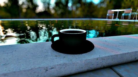 Black cup mockup Live Action
