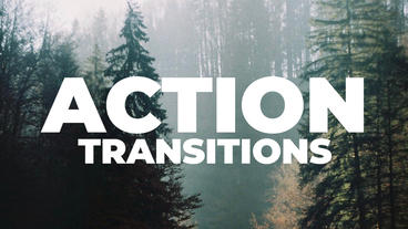 Action Transitions Presets Premiere Proテンプレート